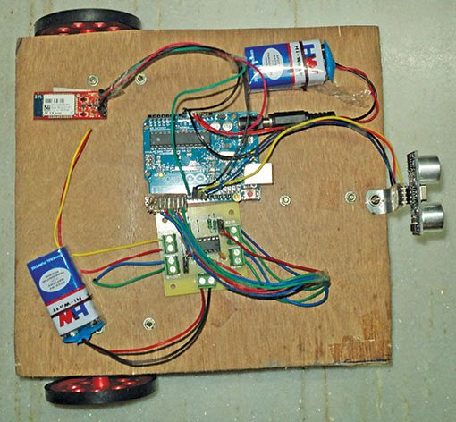 phone controlled robot