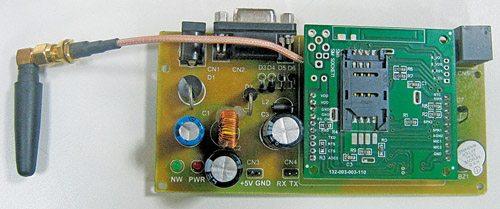 Fig. 4: SIM300 GSM modem