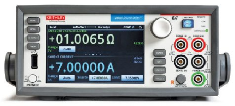 Keithley's Model 2460 SourceMeter
