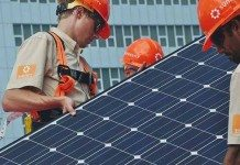 installing rooftop solar plants