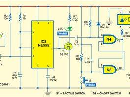 Anti-Carjack System Circuit diagram