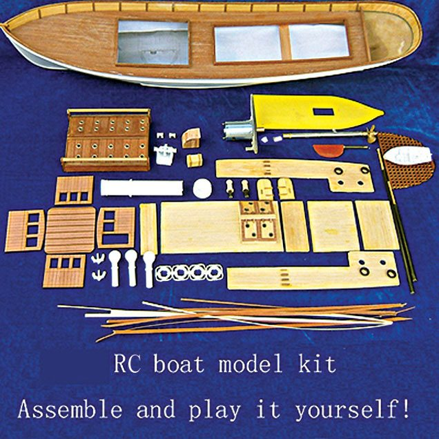 Fig. 7: DIY kit for an RC boat model