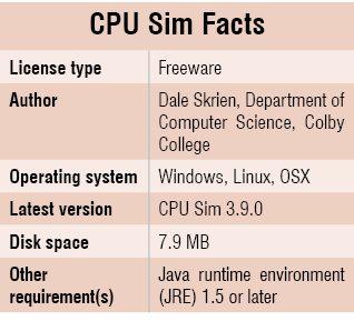 CPU_Sim_Facts