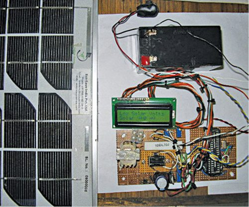 pic microcontroller based solar charger
