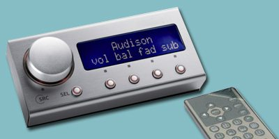 remote controlled digital audio processor