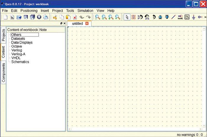 Fig. 3: Untitled empty schematic
