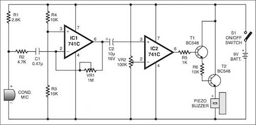 sound scanner circuit