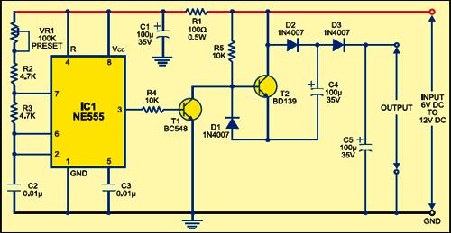 low power voltage doubler circuit