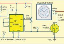 Battery Discharge Measurement Circuit
