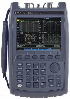 Agilent handheld RF vector network analyser