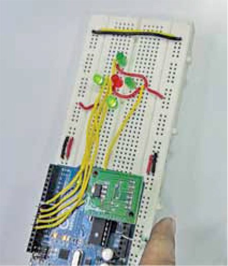 Author's Prototype of Tilt Detector