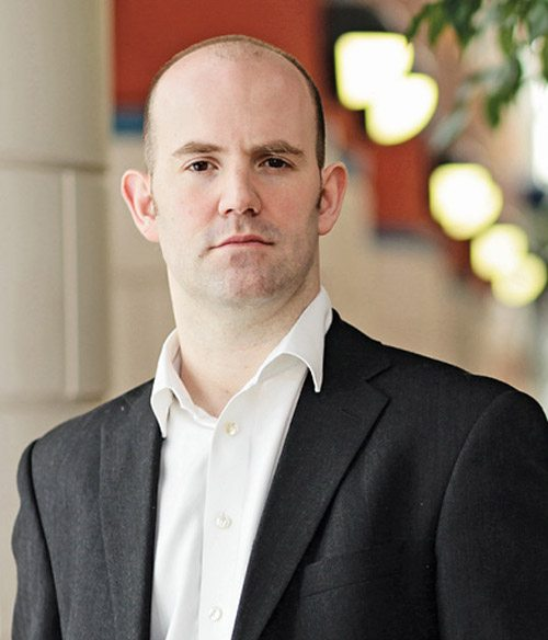 Eben Upton, founder of theRaspberry Pi Foundation andSoC architect with Broadcom
