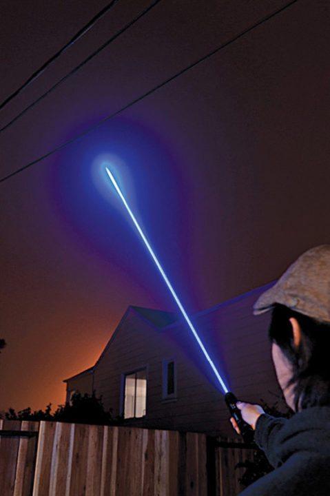 Fig. 1: Laser beam
