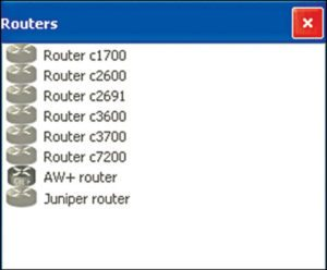 Fig 3: Routers