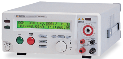 GW Instek's GPI-745A electrical safety tester