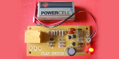 Appliance Timer cum Clap Switch