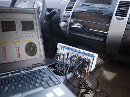 Automotive testing (Courtesy: National Instruments)