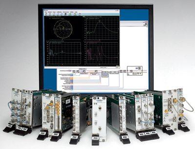 RF vector network analyser