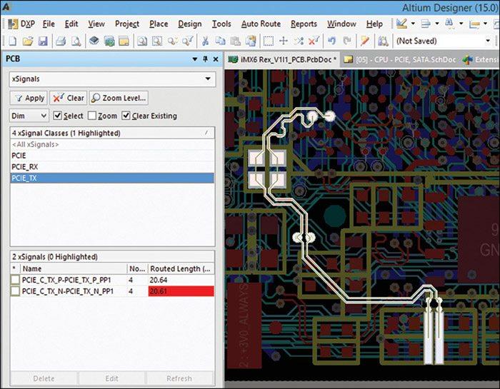 Fig. 1: xSignals in Altium Designer 15