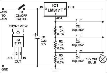 flashing beacon circuit