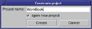 Fig. 6: New Project Dialog