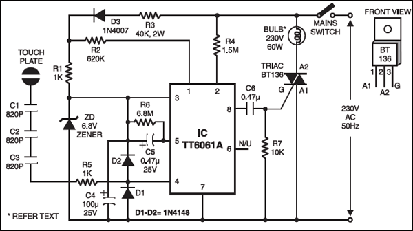 touch dimmer wiring diagram touch dimmer detailed circuit diagram available  touch dimmer detailed circuit diagram