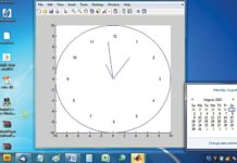 Analogue Clock Using MATLAB