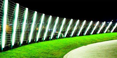 Automatic Lighting Fence