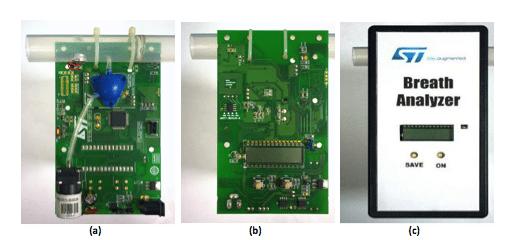 Breath analyzer system reference design