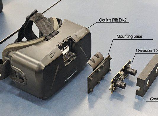 augmented reality basics: Oculus rift setup