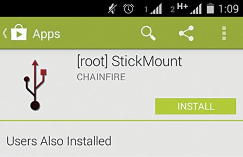Fig. 4: StickMount installation through Google Play