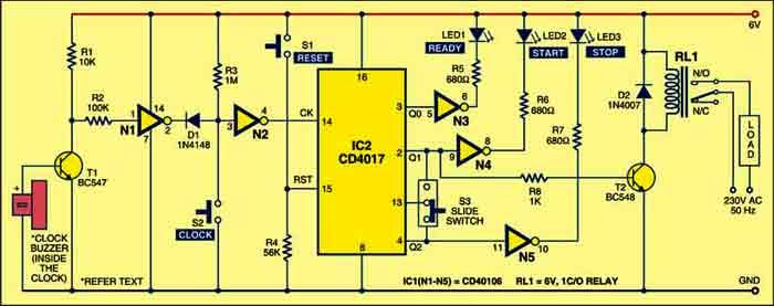 digital timer enhancement circuit