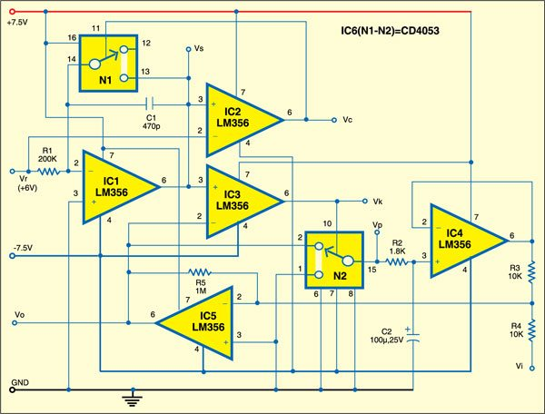 Square Root Generator Circuit