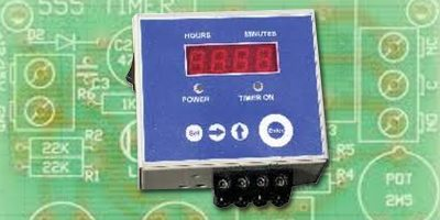 touch free timer switch