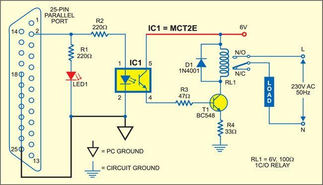 PC based timer circuit