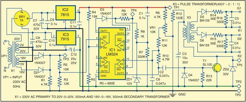 Fig. 1: Pulse generator circuit