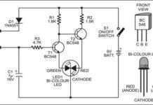 Circuit diagram for Multitester