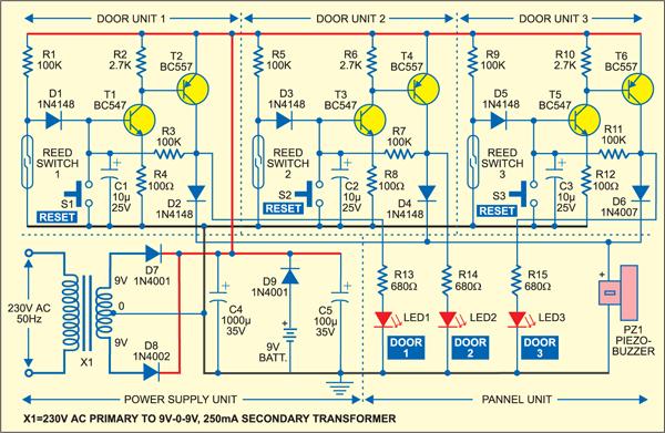 Alarm Transformer Wiring Diagram
