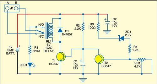 Battery guard circuit