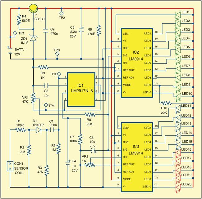 RPM meter circuit
