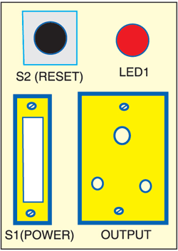 Fig. 2: Socket arrangement