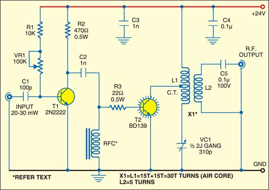 High frequency power amplifier circuit