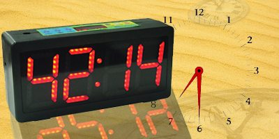 clock controlled timer