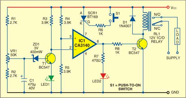 Circuit of low voltage protector