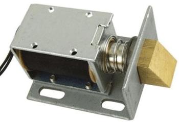 Fig. 3: Electromagnetic door lock