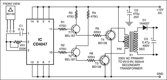 Window Charger Circuit