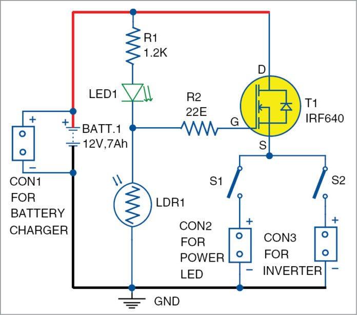 dusk-dawn controller circuit diagram