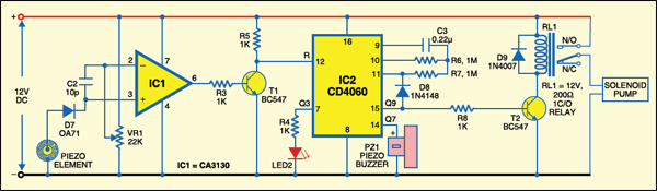 Pyroelectric Fire Alarm