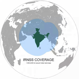 Indian IRNSS and its coverage