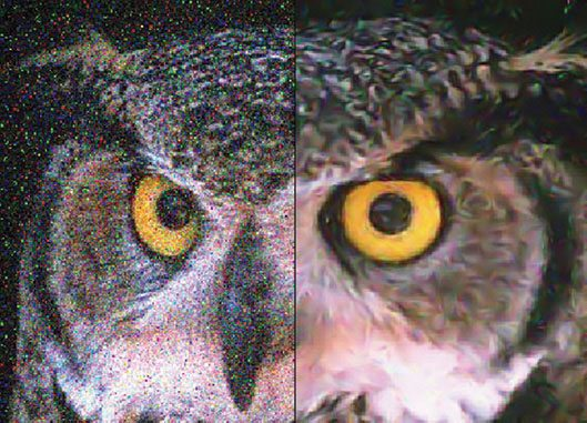 Fig. 2: Image restoration and inpainting using Tschumperlé-Deriche algorithm